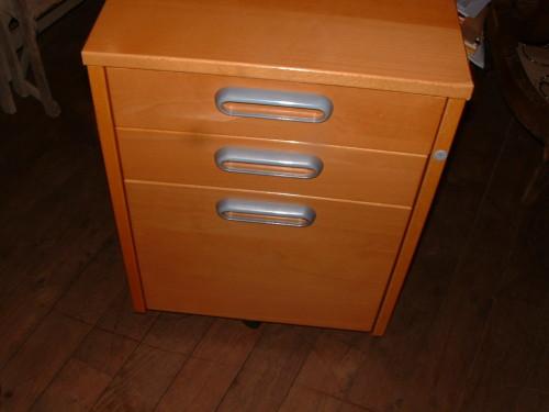 Caisson Tiroirs De Bureau IKEA Couleur Miel Petites