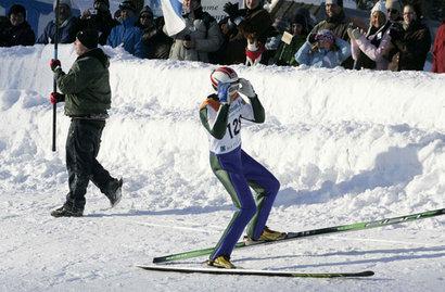 Matti johti kilpailua jo ensimmäisen kierroksen jälkeen ylivoimaisesti.