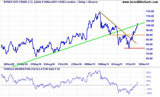 Nymex WTI Crude