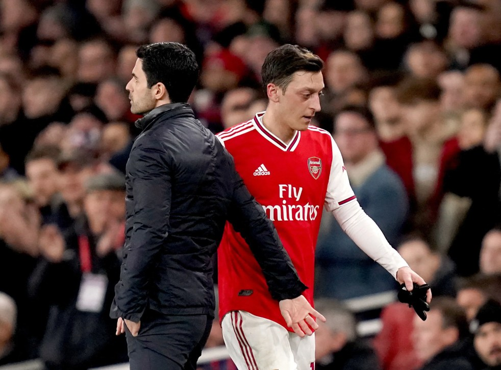 Mesut Ozil dropped from Arsenal's Premier League squad for 'football  reasons', insists Mikel Arteta | The Independent