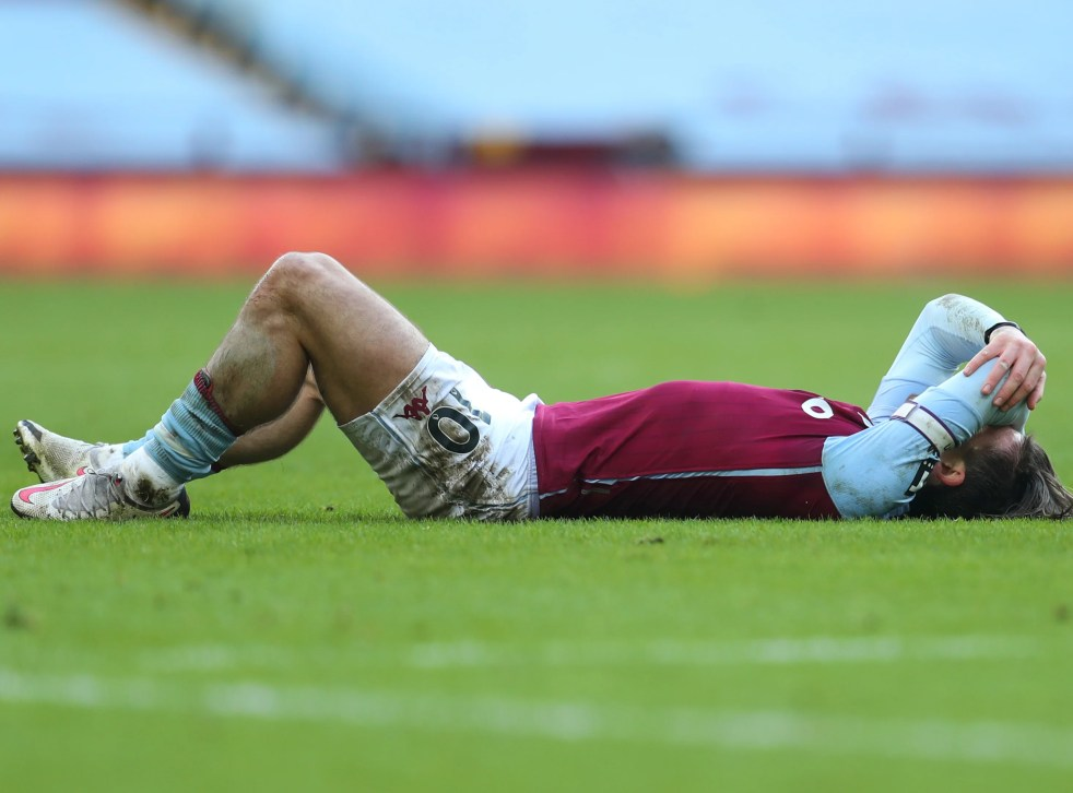Jack Grealish: Aston Villa handed 'frustrating' injury update on star man   The Independent