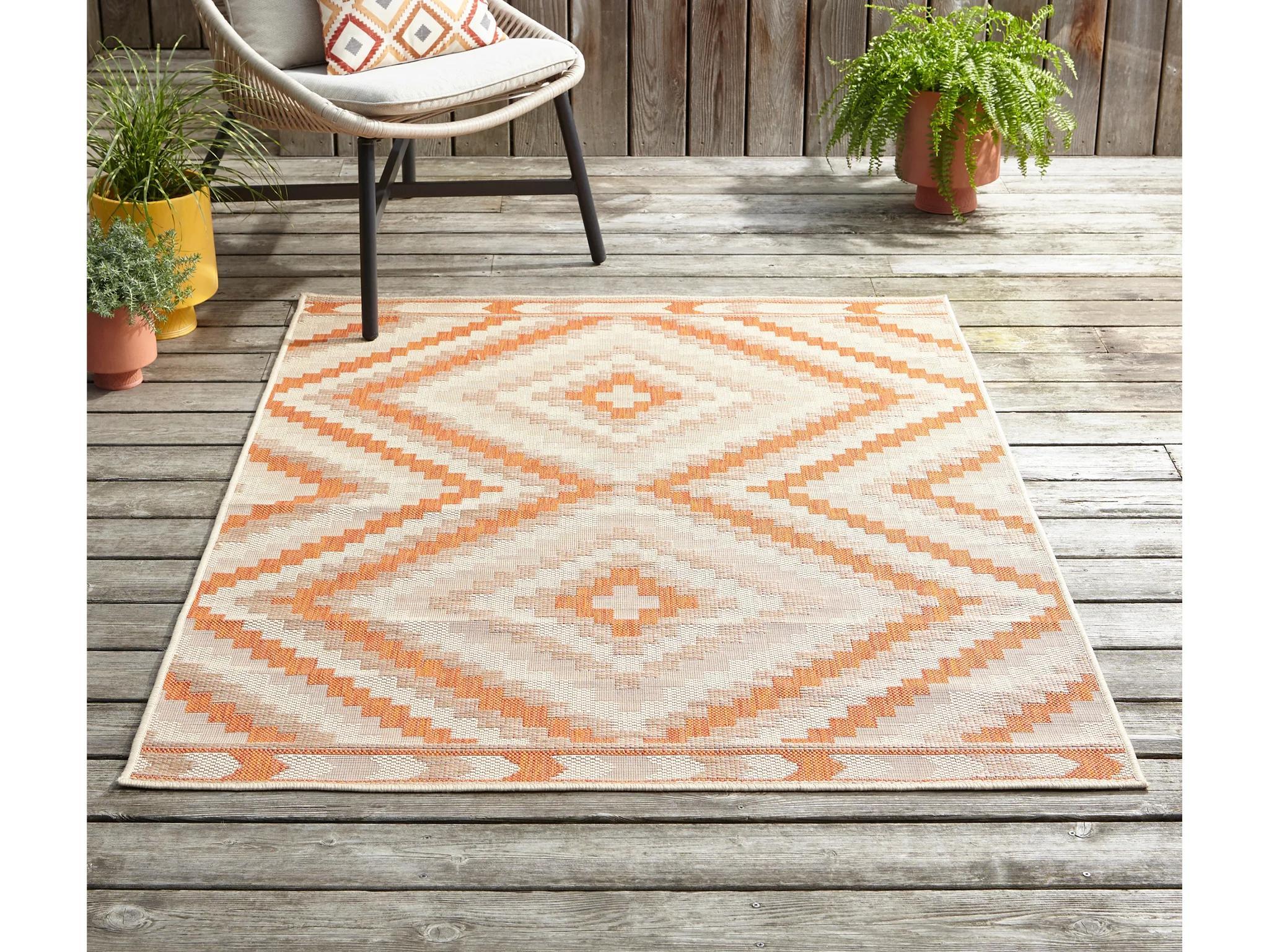 best outdoor rug waterproof plastic