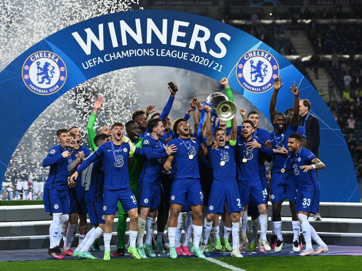 Chelsea 2020/21 Winners