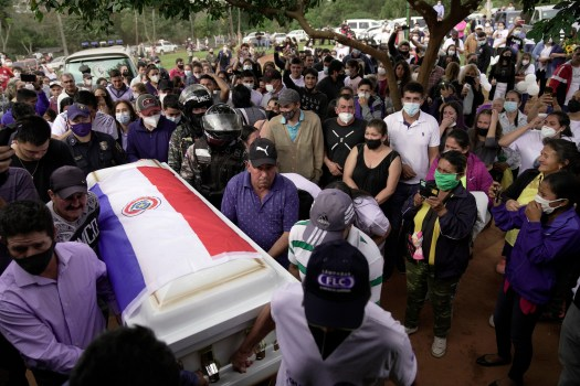 Coffin of nanny killed in condo collapse returns to Paraguay Paraguay Asuncion Miami-Dade County Florida Foreign Ministry 2
