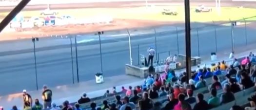 Race track announcer ousted after going on racist rant over loudspeaker 2