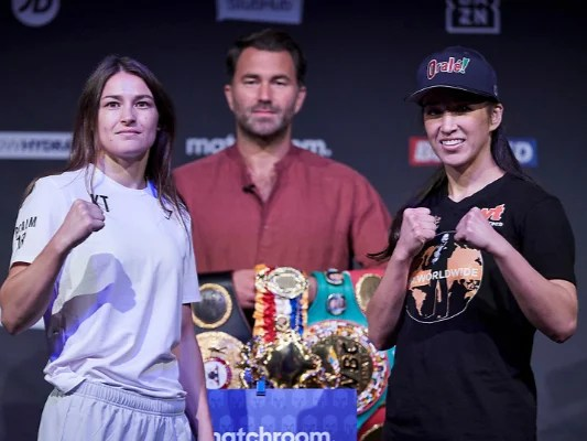 <p>Katie Taylor is looking to impress against Jennifer Han</p>