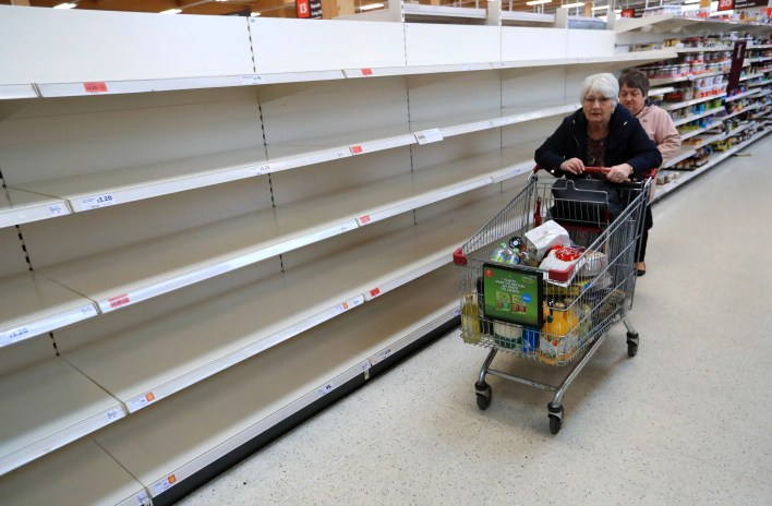 food shortages 'permanent' and shoppers will never again enjoy full choice of items, britons warned   the independent