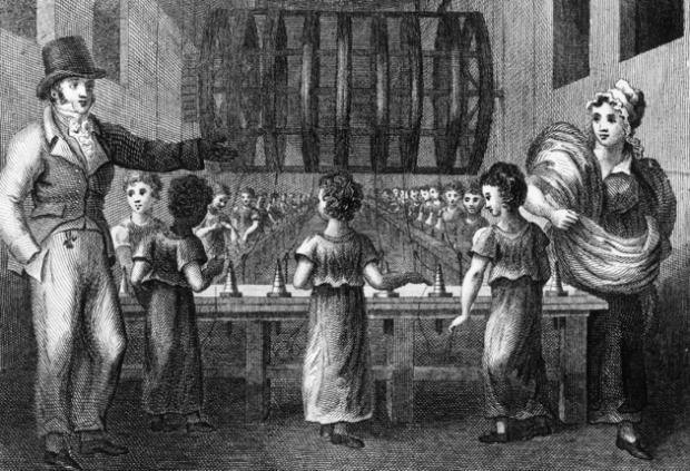 Textile Worker Industrial Revolution