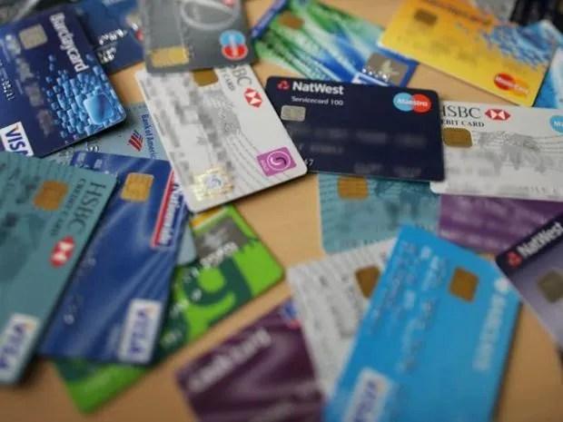 Credit card print ads