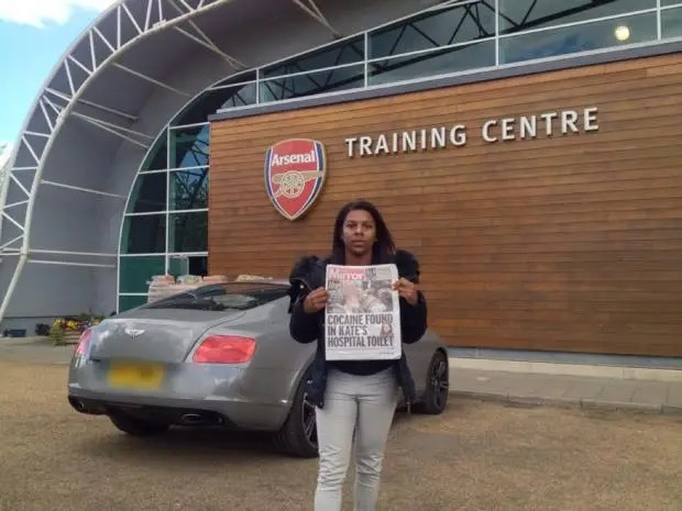 Image result for Ainsley Maitland-Niles and mother