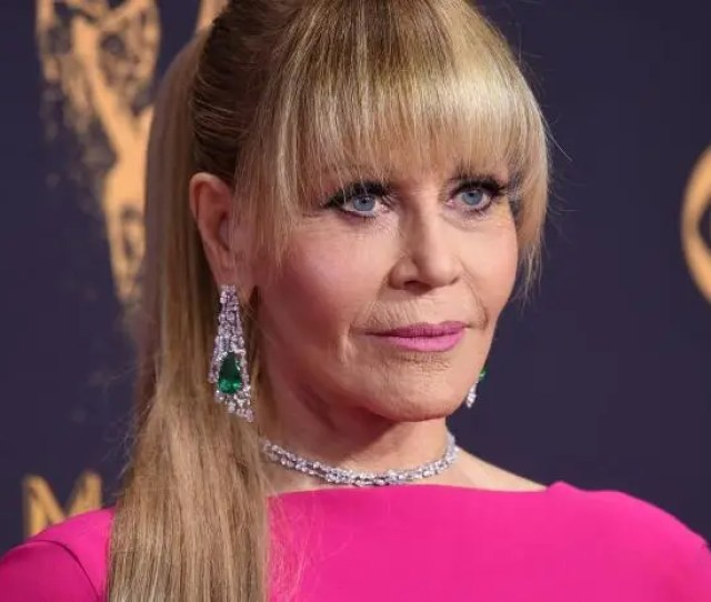 Jane Fonda At The Emmy Awards  Rex
