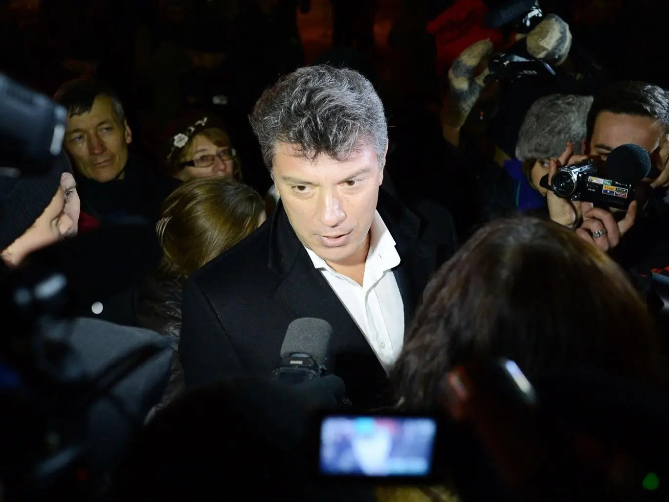 Nemtsov in 2012; he was, said Britain's former ambassador to Russia, 'charismatic, determined, and, finally, brave'