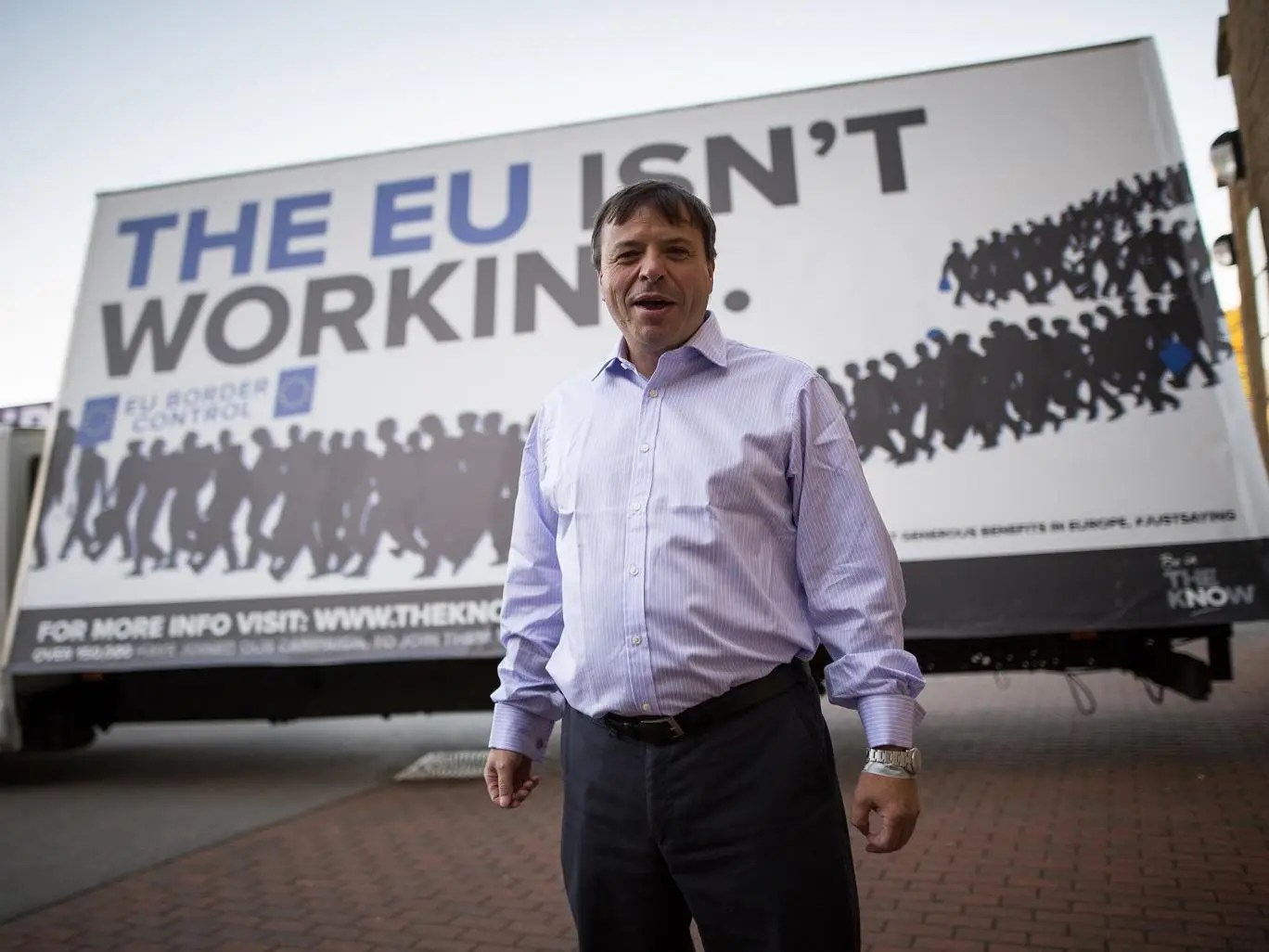 Arron Banks, co-founder of Leave.EU: 'European law is now superior to British law; we want that reversed'