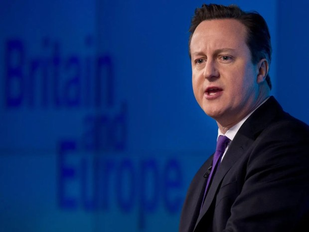 David Cameron delivers a speech on 'the future of the European Union and Britain's role within it'