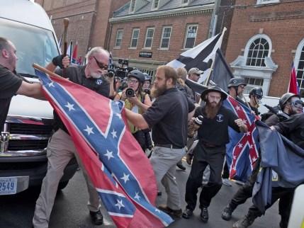 white supremacists are charlottesville