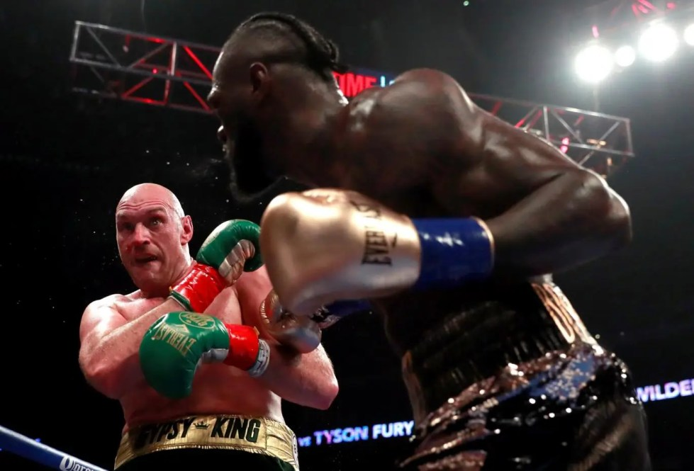 Image result for floyd mayweather at fury wilder fight