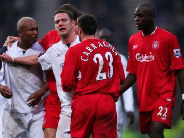 """Image search results for """"diouf contre gerrard à liverpool"""""""