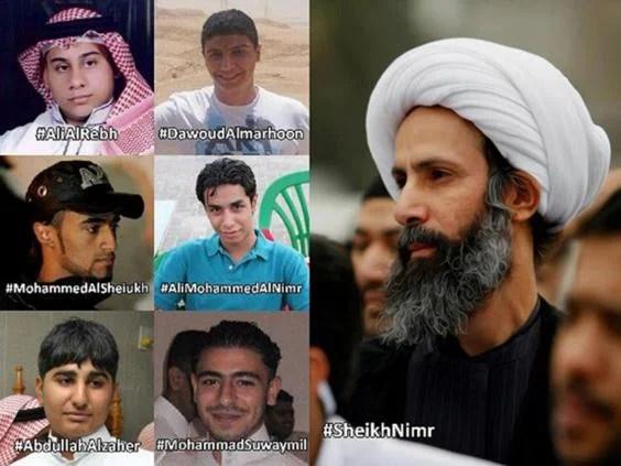 Saudi political prisoners on death row