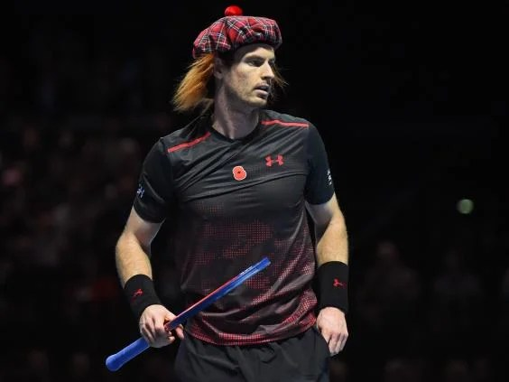 andy murray1 - Andy Murray targets New Year comeback in Australia but will not rush return after charity match defeat by Roger Federer