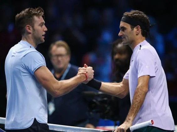 federer 3 - Spritely Roger Federer continues to defy his years to dispatch Jack Sock at the ATP Finals in London