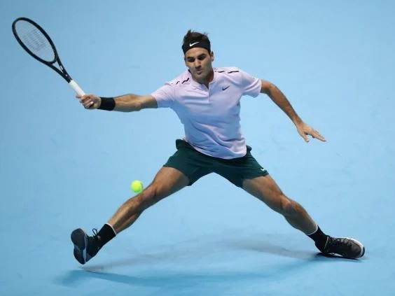 federer - Spritely Roger Federer continues to defy his years to dispatch Jack Sock at the ATP Finals in London