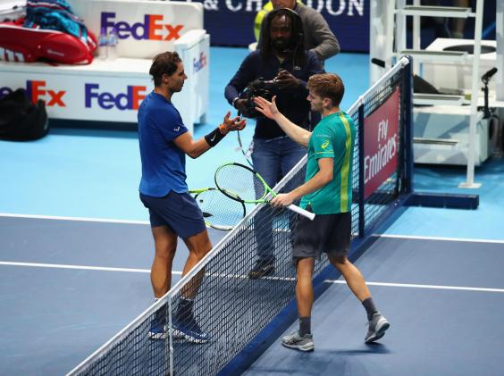 rafael nadal 2 - Rafael Nadal withdraws from ATP Finals due to a knee injury