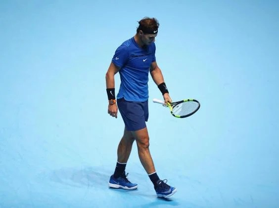 rafael nadal - Rafael Nadal withdraws from ATP Finals due to a knee injury
