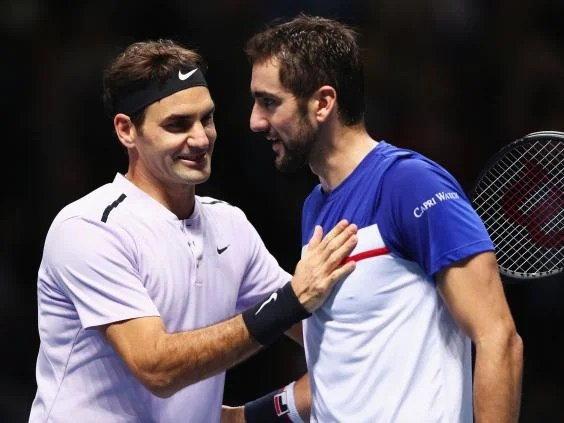 cilic - Roger Federer fights back against Marin Cilic to extend winning streak