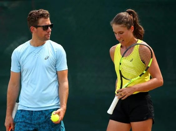 konta wim fissette - Home is where the heart is for Johanna Konta as British No 1 works hard for the start of the new season
