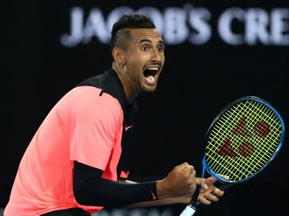 kyrgios - Nick Kyrgios finds form to down Jo-Wilfried Tsonga and reach Australian Open fourth round