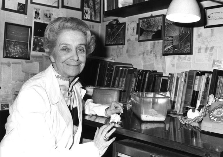 Ilmuwan perempuan Rita Levi-Montalcini