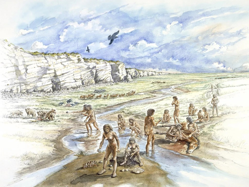 Revealed How Prehistoric Des Res Gave Stone Age Brits A