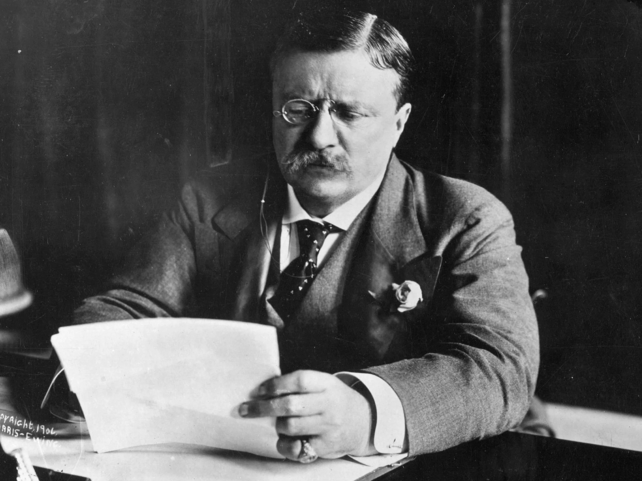 President Theodore Roosevelt Provides Ed Miliband With An