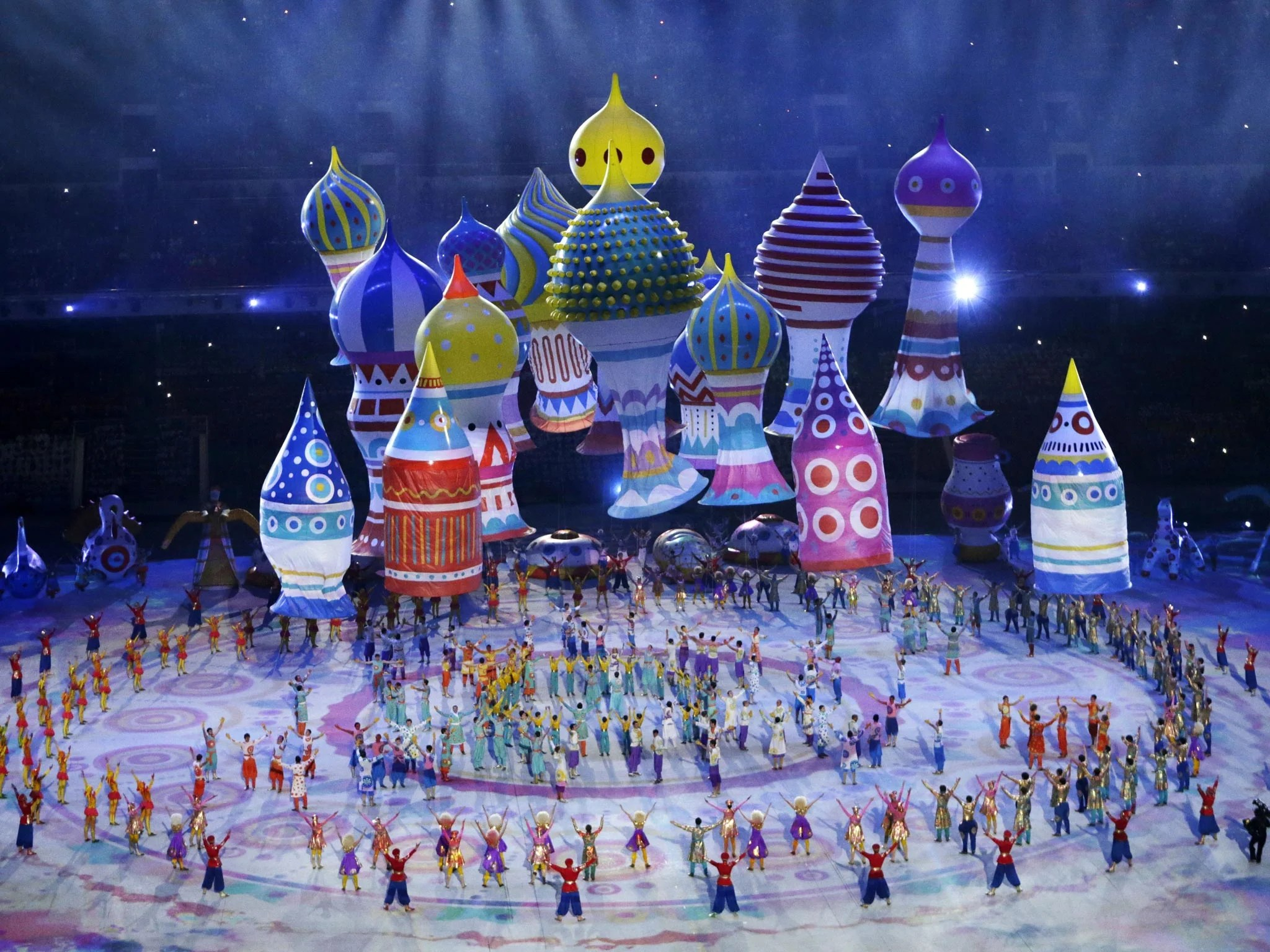 Winter Olympics Bigger Brasher Brighter
