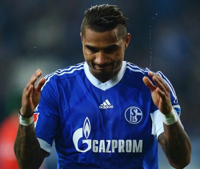 Kevin Prince Boateng Of Schalke 04
