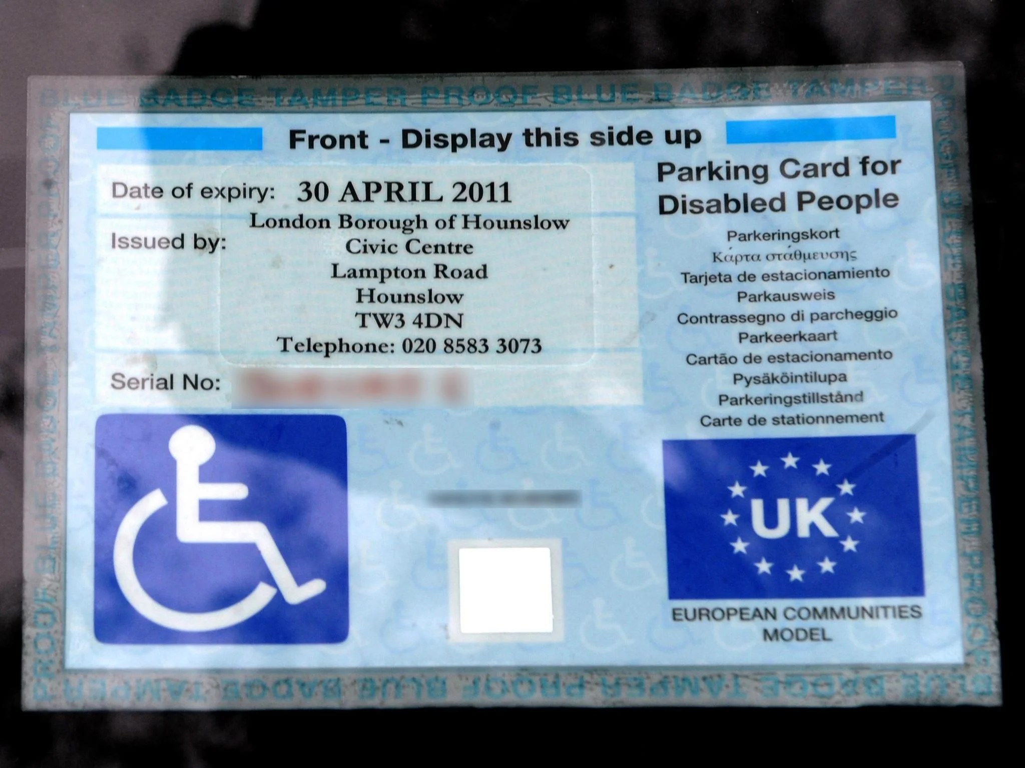 Benefits Disabled People