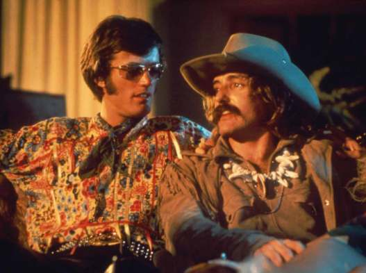 Image result for HOPPER AND FONDA IN EASY RIDER