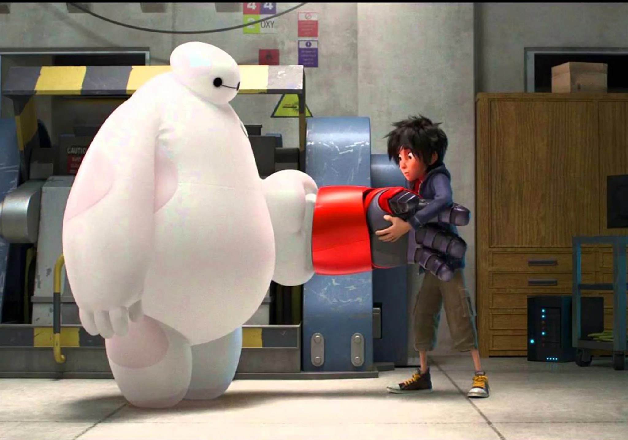 Big Hero 6 Trailer For Disney S New Marvel Inspired Movie