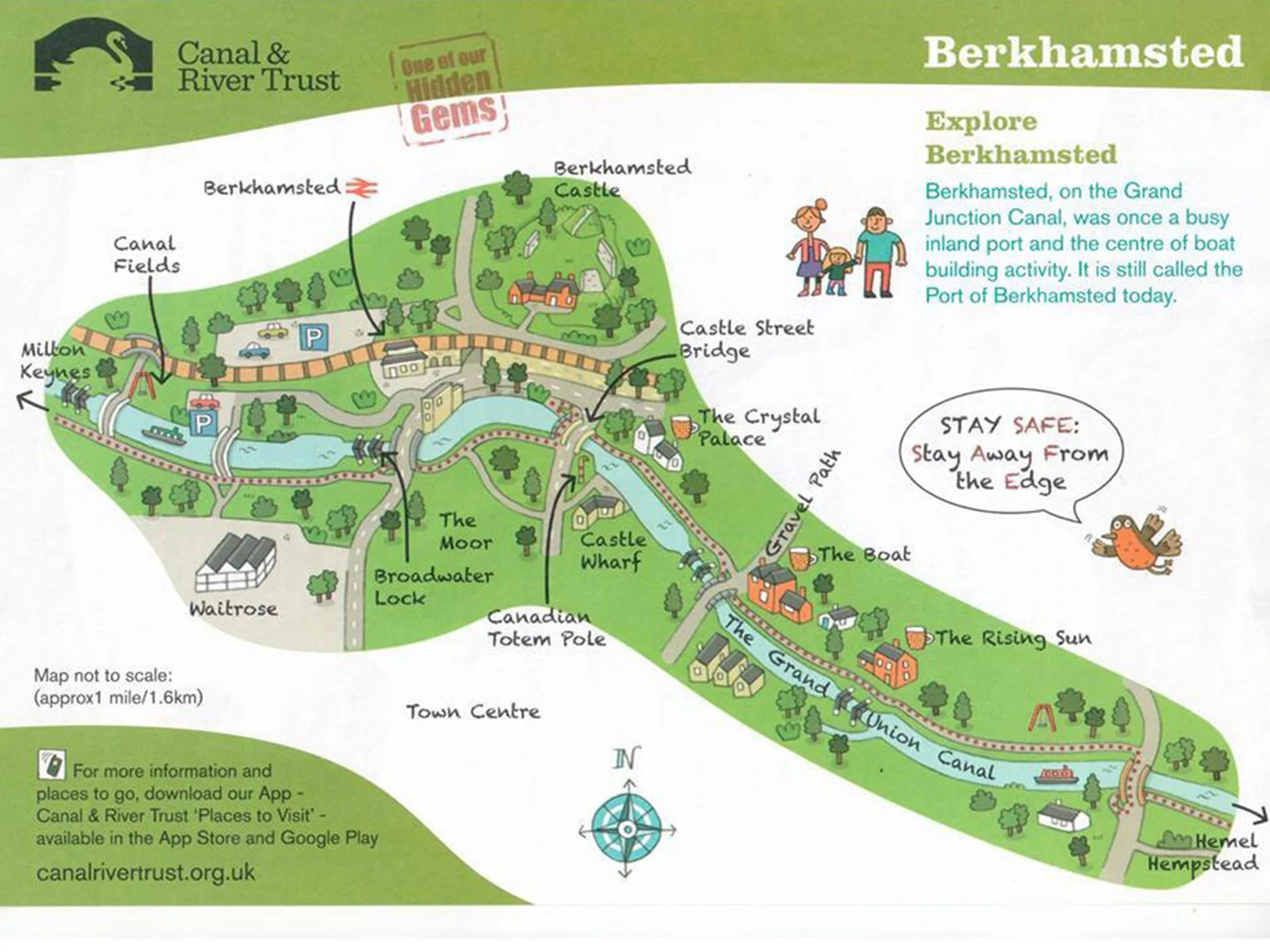 Shaped Map Of Berkhamsted Goes Viral And