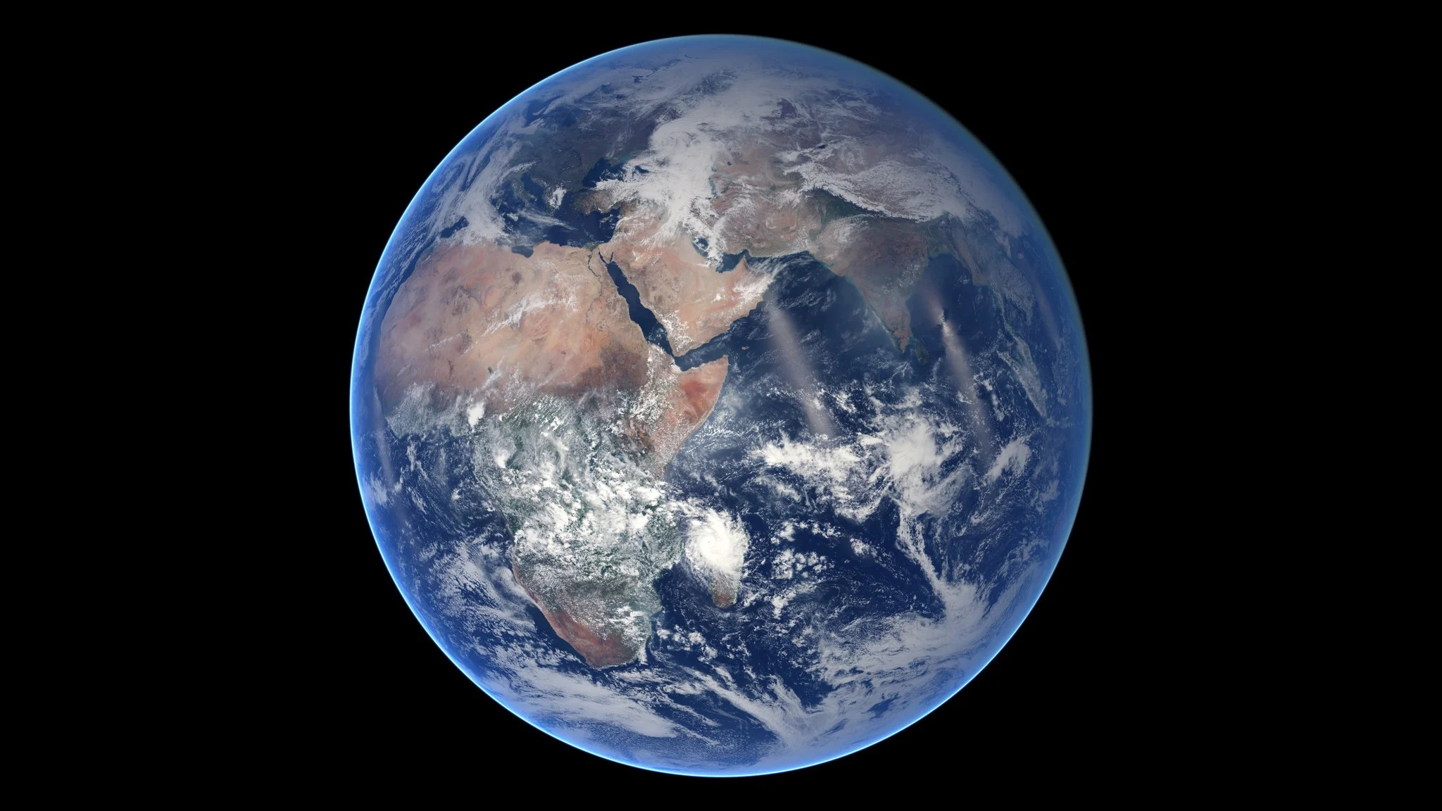 The Blue Marble Spins Amazing Nasa Time Lapse Shows