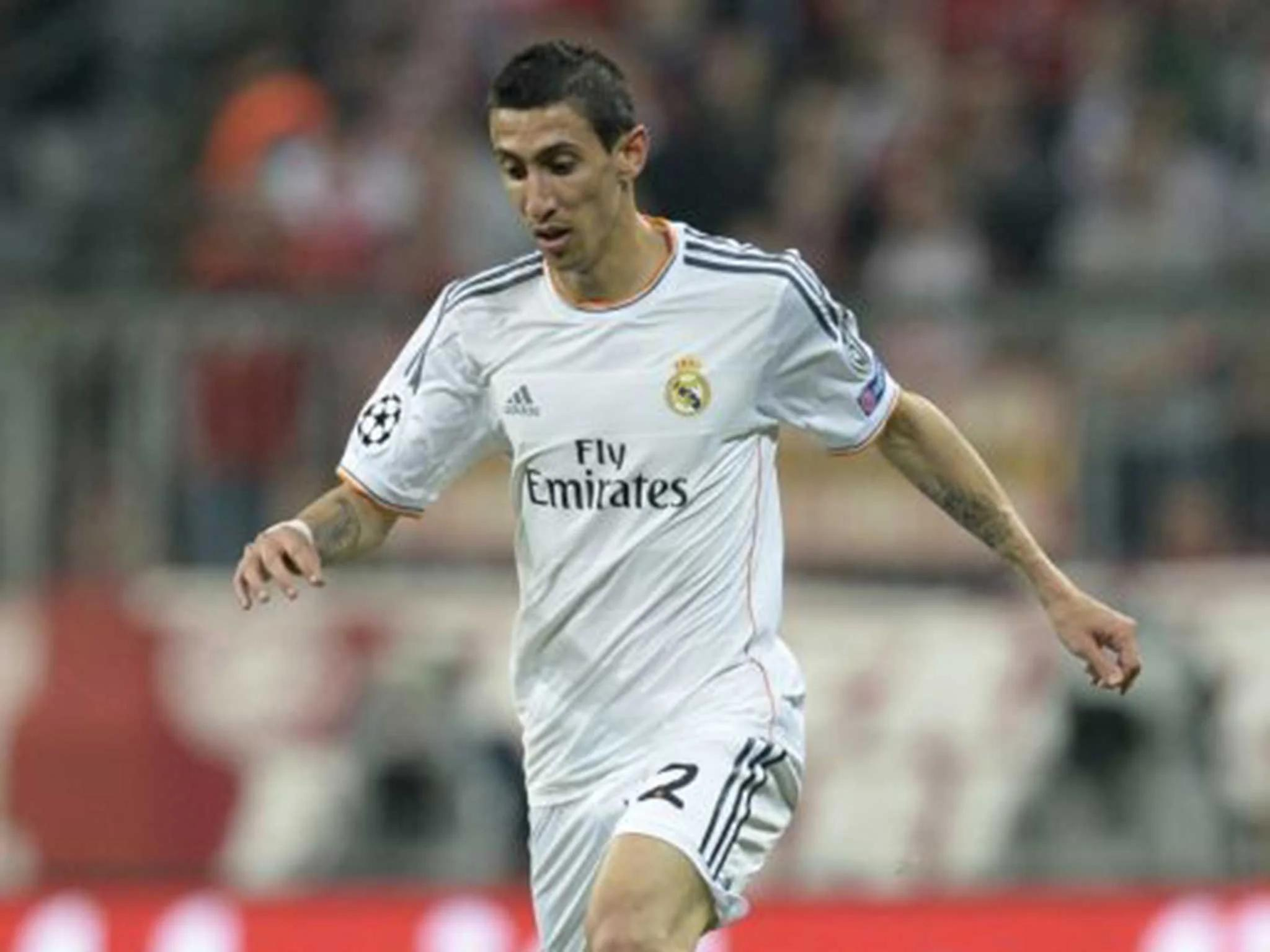 angel di maria hits out at real madrid