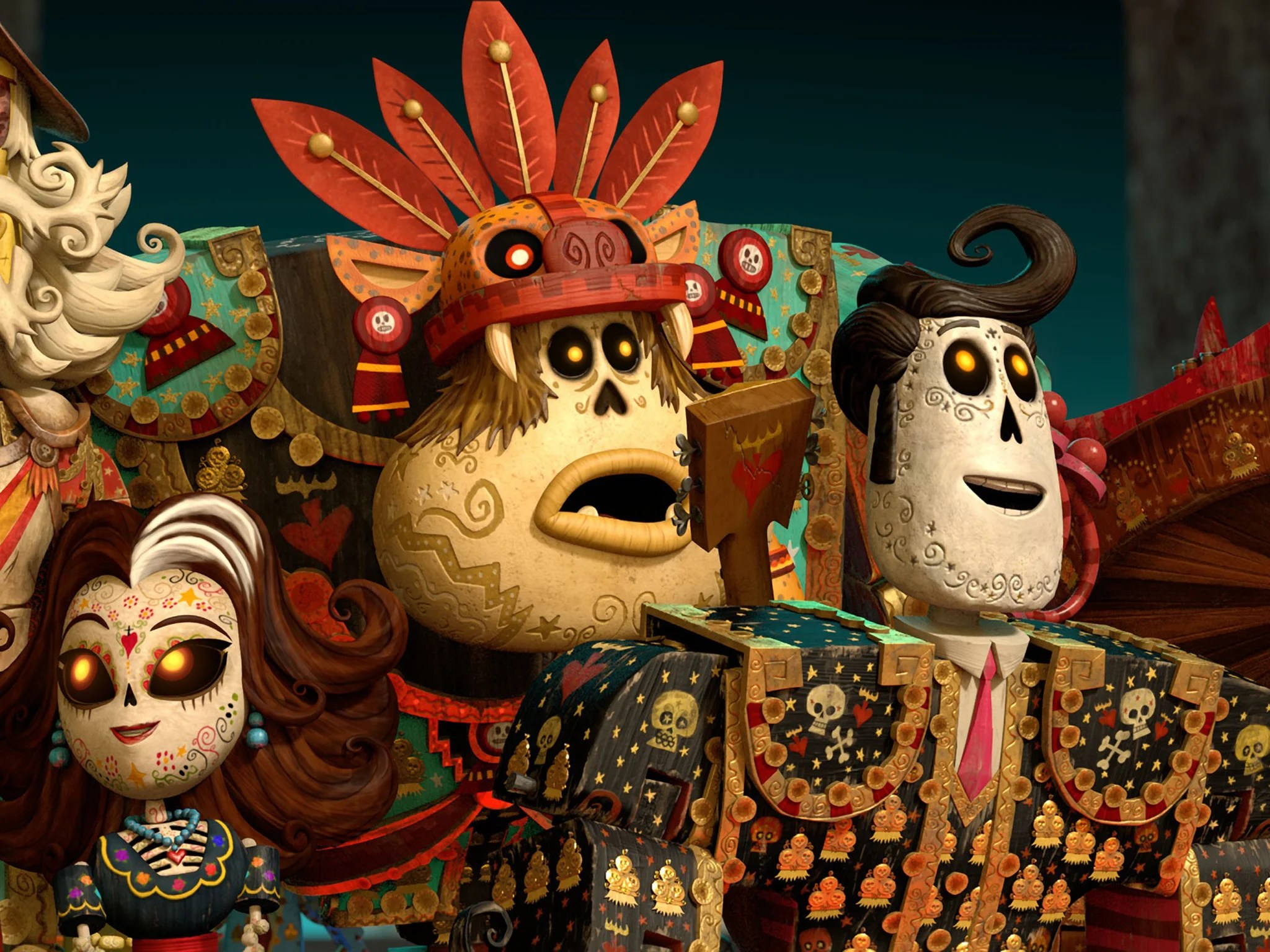 The Book Of Life 3d Film Review Storytelling Lets Down