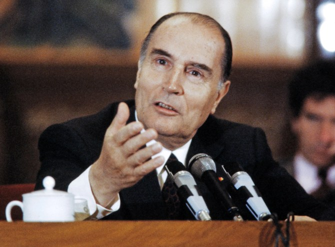 François Mitterrand: Former French president's 'other woman' finally reveals all about their 32-year affair in a new biography | The Independent | The Independent