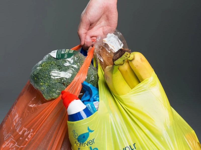 Plastic bag tax: It's here, and it's green, but retailers will decide where  the money goes   The Independent   The Independent