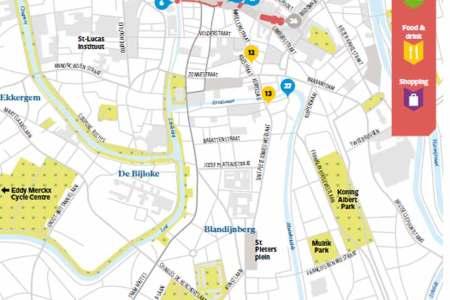 ghent tourist map » ..:: Edi Maps ::..   Full HD Maps