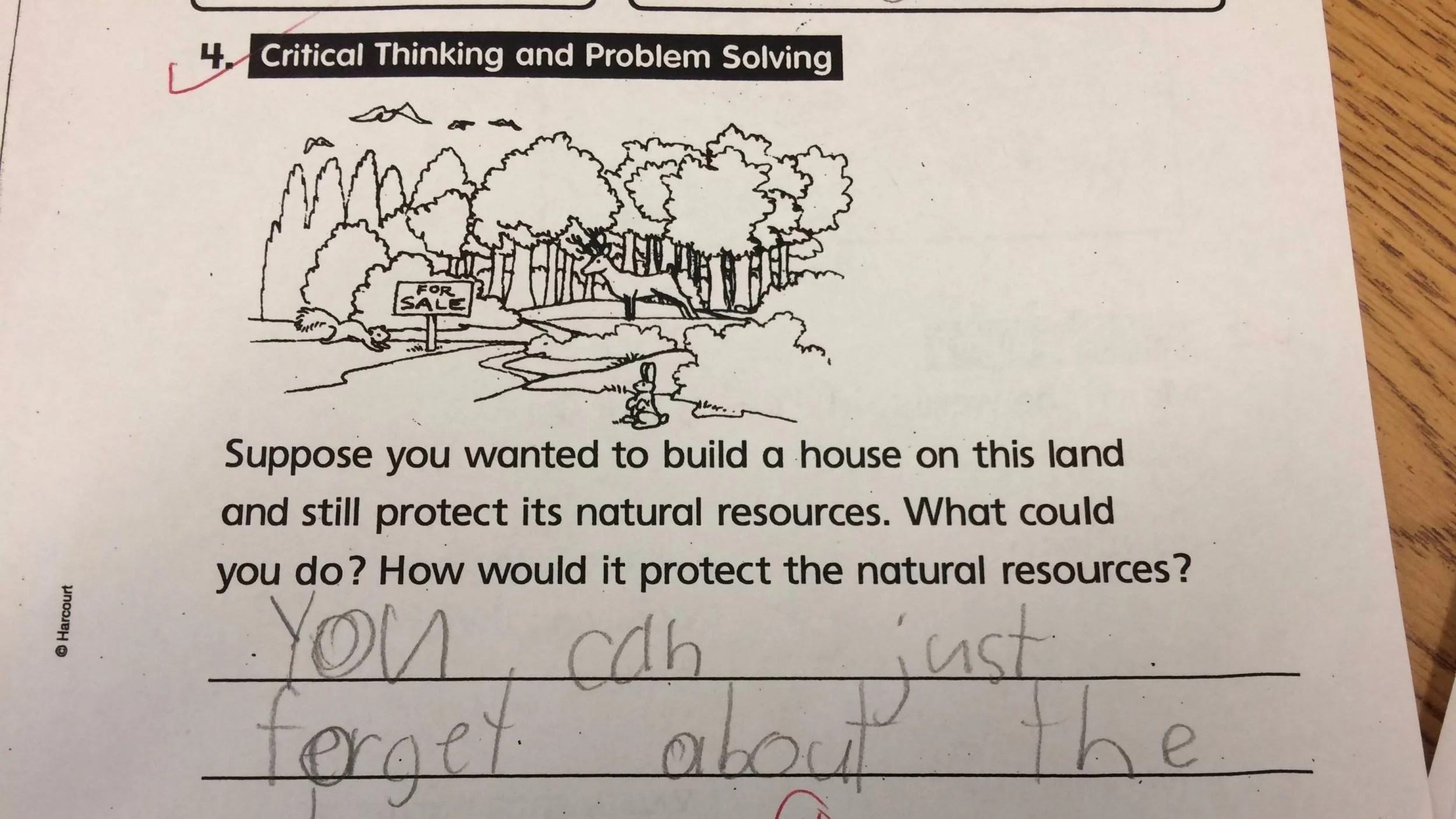 Pupil S Hilariously Accurate Critical Thinking And Problem