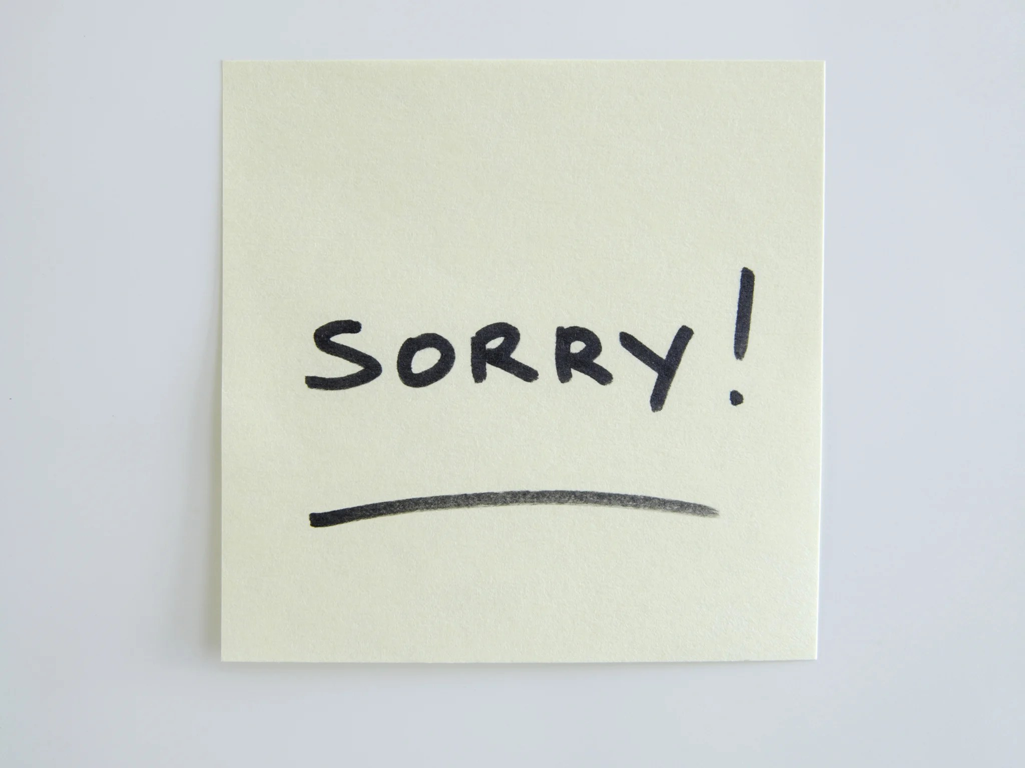 13 Times You Shouldn T Say I M Sorry At Work