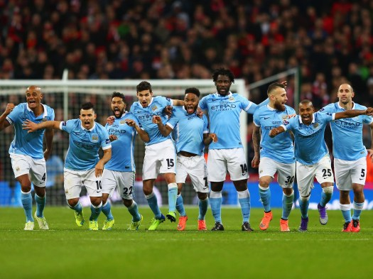 Liverpool vs Manchester City - Capital One Cup final ...