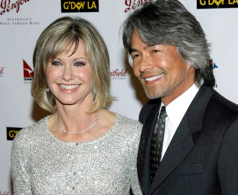 Image result for free to use image of olivia newton john and boyfriend