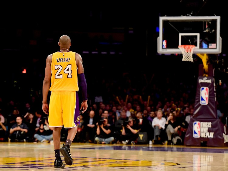 Image result for photos of lakers kobe bryant action shot""